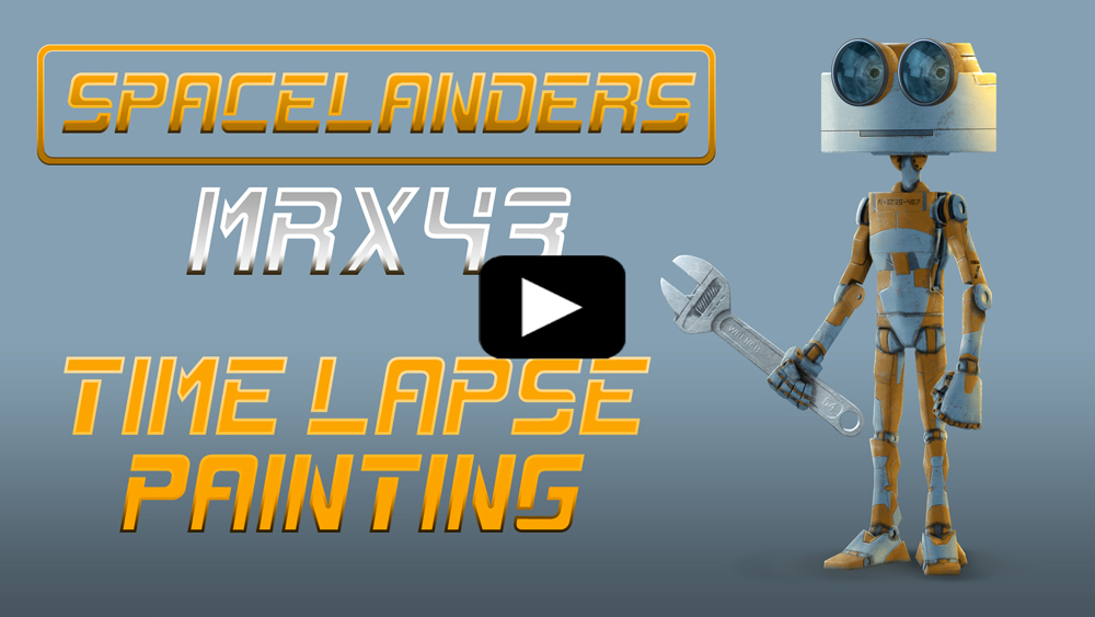 MRX43 Speed Painting Video