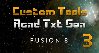 Text Animation Tool For Fusion (Part 3)