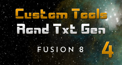 Text Animation Tool For Fusion (Part 4)