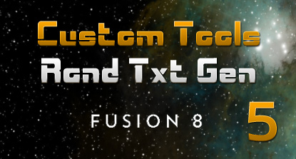 Text Animation Tool For Fusion (Part 5)