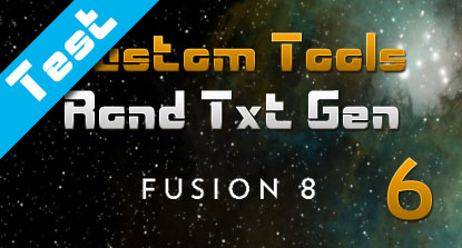 Text Animation Tool For Fusion (Part 6)