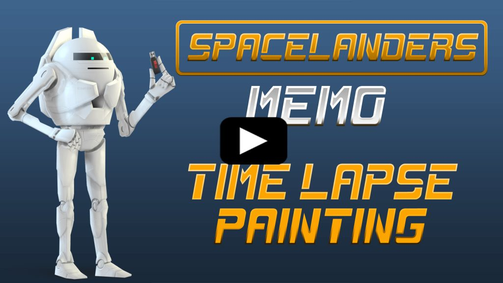Memo : Speed Painting Video